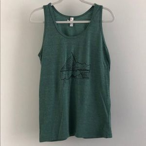 American Apparel Pacific Northwest tank top